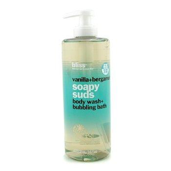 Vanilla + Bergamont Soapy Suds (Body Wash + Bubbling Bath)