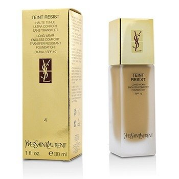 Yves Saint Laurent-Teint Resist Long Wear Transfer Resistant Foundation SPF10 ( Oil Free ) - #04 Sand