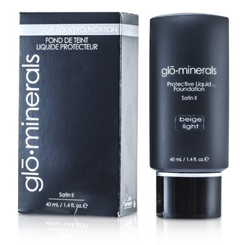 GloMineralsGloProtective Oil Free Liquid Foundation Satin Finish40ml/1.4oz
