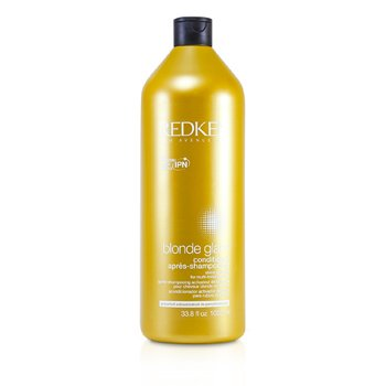 Redken Blonde Glam Shine Activator Conditioner (For Multi-Tonal Blondes)  1000ml/33.8oz
