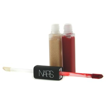 NARS-Lip Gloss/ Lip Stain Gloss Duo - # Moon Fleet/ Indian Red