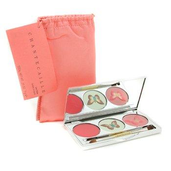 Chantecaille-Garden in Kyoto Palette: Lip Gloss + Shine Eye Shade + Cheek Shade + Applicator