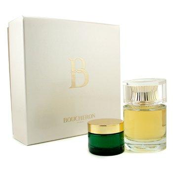 Boucheron-B De Boucheron Coffret: Eau De Parfum Spray 100ml + Body Cream 30ml