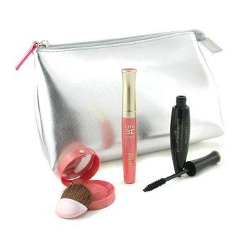 Bourjois-Dallas Cowboys Cheerleaders Set: Pump Up The Volume Mascara + Effet 3D Lipgloss + Blush + Bag