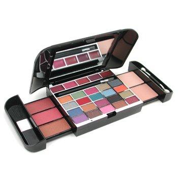 Cameleon-MakeUp Kit G1689-2: ( 2x Powder Cake, 3x Blusher, 20x Eyeshadow, 1x Eye Pencil, 5x LipGloss, 3x Applicator )