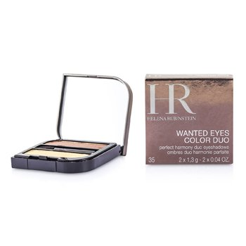 Helena Rubinstein-Wanted Eyes Color Duo - No. 35 Earth & Sand