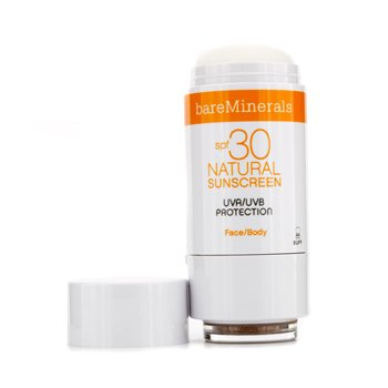 Bare Escentuals BareMinerals Natural Sunscreen SPF 30 For Face & Body - Tan 4g/0.14oz