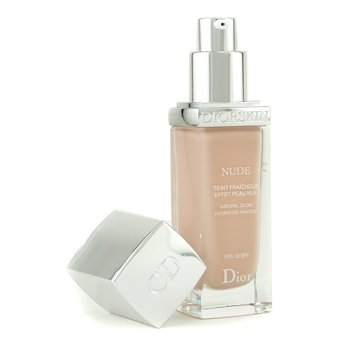 Christian Dior-Diorskin Nude Natural Glow Hydrating Makeup SPF 10 - # 012 Porcelain
