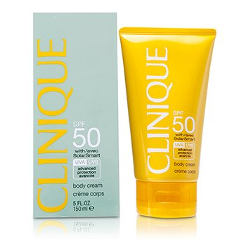 CliniqueSun SPF 50 Body Cream UVA/ UVB 150ml/5oz