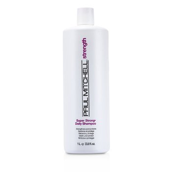 Paul MitchellStrength Super Strong Daily Shampoo (Strengthens and Protects) 1000ml/33.8oz