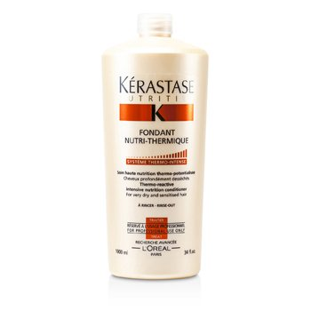 KerastaseNutritive Fondant Nutri-Thermique Thermo-Reactive Intensive Nutrition Conditioner (For Very Dry and Sensitised Hair) 1000ml/34oz