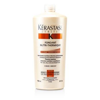 Kerastase Condicionador Nutritive Fondant Nutri-Thermique Thermo-Reactive Intensive Nutrition  ( Cabelos secos e sensiveis )  1000ml/34oz