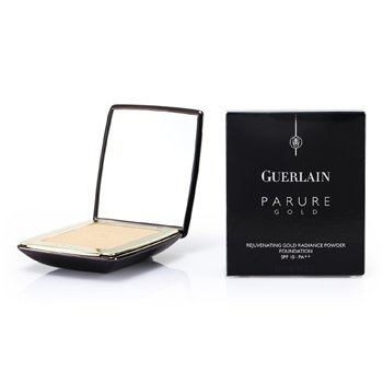 Guerlain-Parure Gold Rejuvenating Golden Radiance Powder Foundation SPF 10 - # 01 Beige Pale