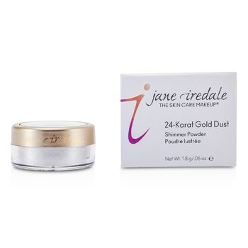 Jane Iredale 24 Karat Gold Dust Shimmer Powder – Silver 1.8g/0.06oz