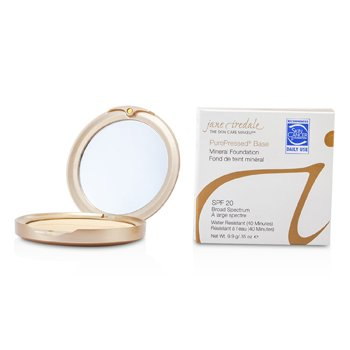 Jane Iredale PurePressed Base Pressed Mineral Powder SPF 20 – Amber 9.9g/0.35oz