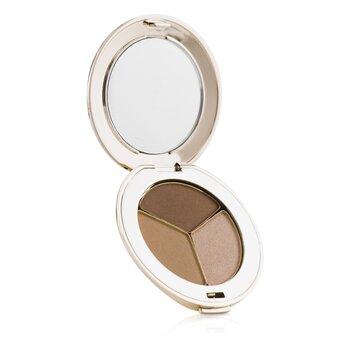 Jane Iredale PurePressed Triple Eye Shadow - Triple Cognac 2.8g/0.1oz