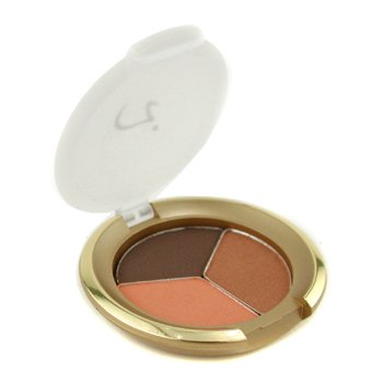 Jane Iredale-PurePressed Triple Eye Shadow - Pecan Chocolate