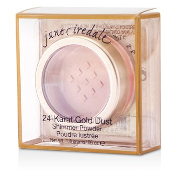 Jane Iredale 24 Karat Gold Dust Shimmer Powder - Champagne  1.8g/0.06oz