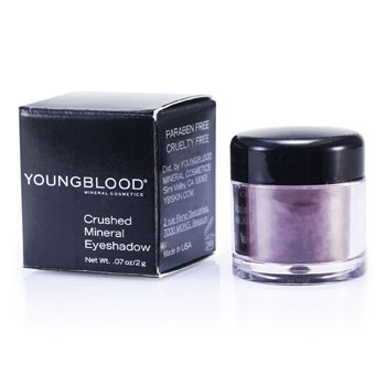 Youngblood-Crushed Mineral Eyeshadow - Egglant