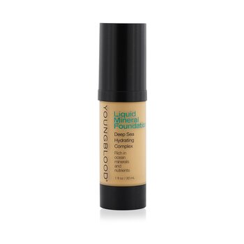 Youngblood-Liquid Mineral Foundation - Sand