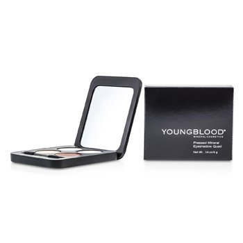 Youngblood-Pressed Mineral Eyeshadow Quad - Eternit
