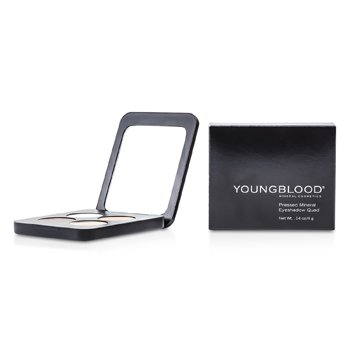 Youngblood-Pressed Mineral Eyeshadow Quad - Timeless