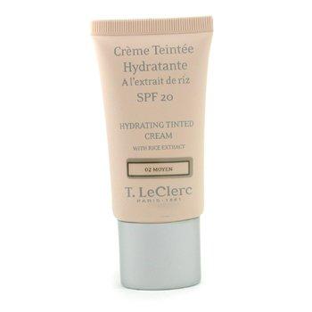 T. LeClerc-Hydrating Tinted Cream SPF 20 - # 02 Moyen
