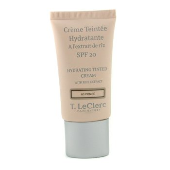 T. LeClerc-Hydrating Tinted Cream SPF 20 - # 03 Fonce