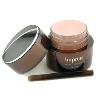 Kanebo-Impress Cream Foundation SPF 17 - # PO-B