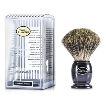 Pure Badger Shaving Brush - Pure Black The Art Of Shaving Pure Badger Shaving Brush - Pure Black 1pc