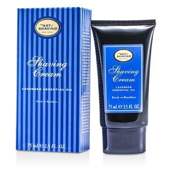 The Art Of Shaving Shaving Cream - Lavender Essential Oil 75ml/2.5oz