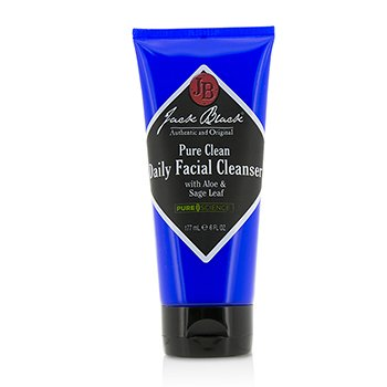 Jack Black Pure Clean Limpiador Facial Diario  177ml/6oz