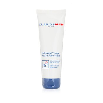 Clarins Men Jab�n Activo Rostro  125ml/4.4oz