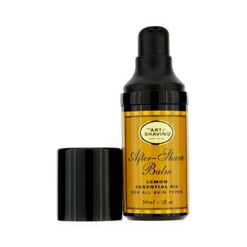 The Art Of ShavingAfter Shave Balm - Lemon Essential Oil (Travel Size, Pump, For All Skin Types) 30ml/1oz