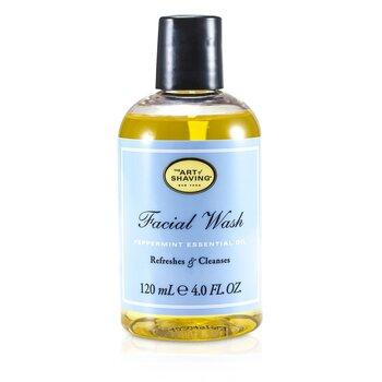 The Art Of Shaving Facial Wash - Peppermint Essential Oil (For Sensitive Skin)  120ml/4oz