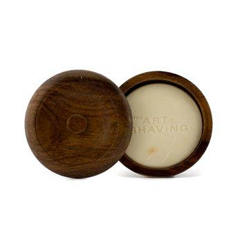 The Art Of Shaving Jab�n de Afeitar con Jabonera - Aceite esencial de S�ndalo (Para Todo Tipo de Piel)  95g/3.4oz