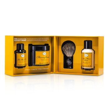 The Art Of Shaving The 4 Elements Of The Perfect Shave - Lemon (Pre Shave Oil+ Shave Crm+ A/S Balm+ Brush) 4pcs