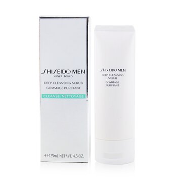 Shiseido Men Exfoliante Limpiador Profundo  125ml/4.2oz