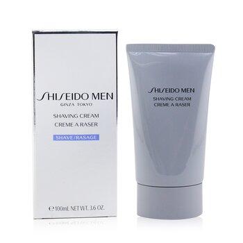 Shiseido Men Shaving Cream 100ml/3.6oz