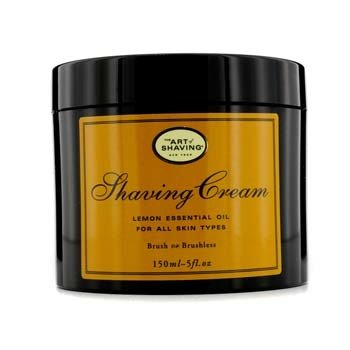 The Art Of Shaving Shaving Cream - Lemon Essential Oil (For All Skin Types)  150g/5.3oz