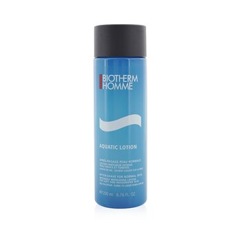 BiothermHomme Aquatic After Shave Lotion (Normal Skin) 200ml/6.76oz
