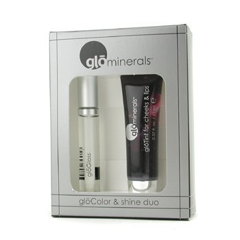 GloMinerals-GloColor & Shine Duo: 1x GloTint for Cheeks & Lips, 1x GloGloss - # Shine