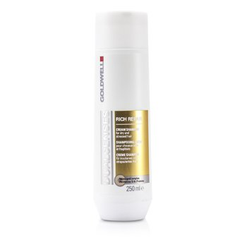 Goldwell Dual Senses Rich Repair Shampoo (For Dry  Damaged or Stressed Hair) 250ml/8.4oz