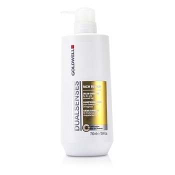 Goldwell Dual Senses Rich Repair Shampoo (For Dry  Damaged or Stressed Hair) 750ml/25oz