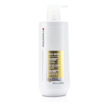 Goldwell Dual Senses Rich Repair Conditioner (For Dry, Damaged or Stressed Hair)  750ml/25oz