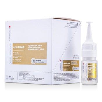 GoldwellDual Senses Rich Repair Leave-In Serum (For Dry, Damaged or Stress Hair) 12x18ml/0.6oz