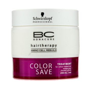SchwarzkopfBC Color Save Rinse-Out Treatment (For Colour-Treated Hair) 200ml/6.7oz