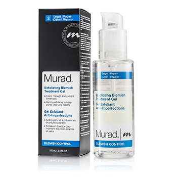 Murad Exfoliating Blemish Tratamento Gel  100ml/3.4oz