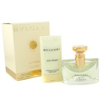 Bvlgari-Pour Femme Coffret: Eau De Parfum Spray 50ml + Body Lotion 75ml
