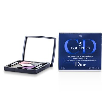 Christian Dior-5 Color Couture Colour Eyeshadow Palette - No. 804 Extase Pinks